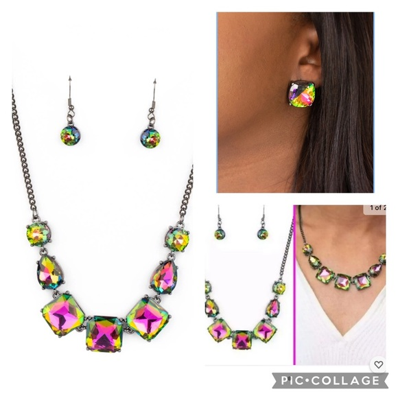Paparazzi Oil Spills Necklace/Earrings
